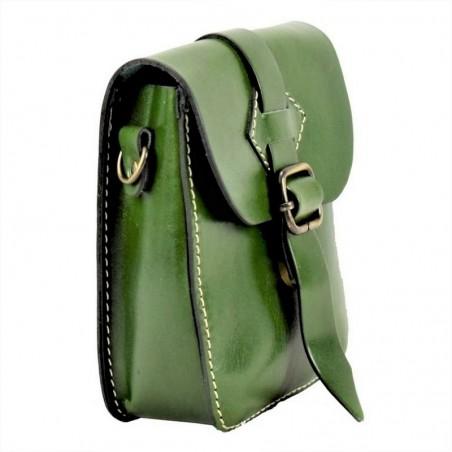 Τσάντα μέσης ''Plant'' γνήσιο δέρμα