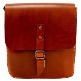 Τσάντα ώμου ''Ecozone'' γνήσιο δέρμα