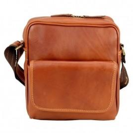 Τσάντα ώμου ''Boulder'' γνήσιο δέρμα