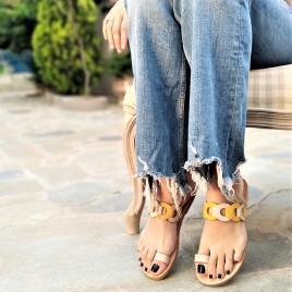 Σανδάλια ''Sunshine'' γνήσιο δέρμα