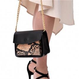 Τσάντα ώμου ''Lithosphere'' γνήσιο δέρμα