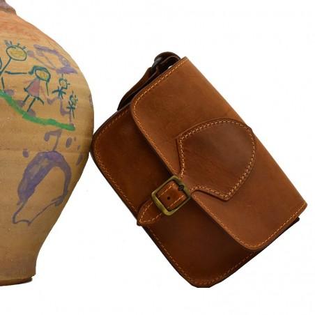 Τσάντα ώμου ''Gravity'' γνήσιο δέρμα