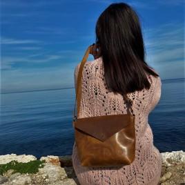 Γυναικεία Δερμάτινη Τσάντα ''Spirit''