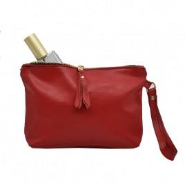 Γυναικεία Δερμάτινη Τσάντα ''Crimson Peak''